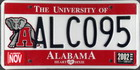 The University of Alabama 2002