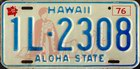 Aloha State, older issue, Passenger 1976