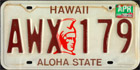 Aloha State, older issue, Passenger 1985