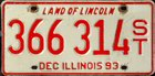 Land of Lincoln, Semi Trailer (Auflieger) 1993