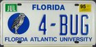 Florida Atlantic University, personalisiert, PKW 1995