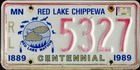 Centennial 1889-1989, Red Lakes Chippewa (Indianer), 1994