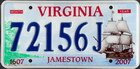 Jamestown 1607-2007, Passenger