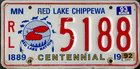 Centennial 1889-1989, Red Lakes Chippewa (Indianer), 1992