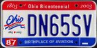 Ohio Bicentennial 1803-2003, current standard issue