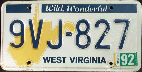 West virginia usa for Wv dept motor vehicles charleston