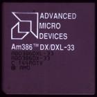 AMD 386 DX/DXL-33