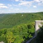 Blick von der Burg Hohenneuffen