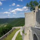 Auf- und Abstieg an der Burg Hohenneuffen