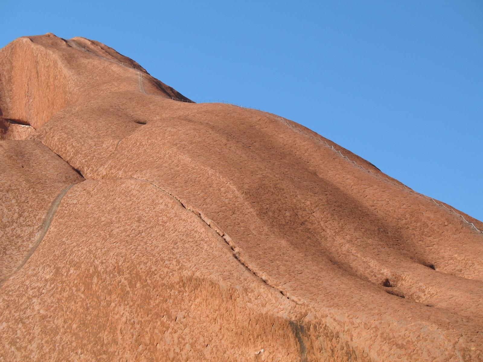 Wanderung auf den Uluru