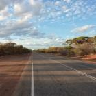 Abendstimmung zwischen Geraldton und Hamlin Pool