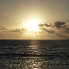Sonnenuntergang T-Bone Bay