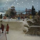 Ski Dubai inside of Mall of the Emirates