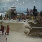Ski Dubai inside of Mall of the Emirates