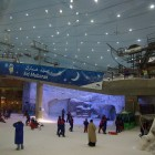 Ski Dubai in der Mall of the Emirates