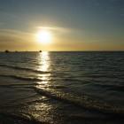 Sonnenuntergang am Strand von Cervantes
