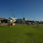 Geraldton Downtown am Strand
