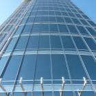 Blick von Aussichtsplattform hoch am Burj Khalifa