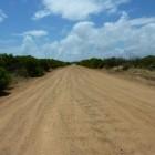 kurze Sandpiste zwischen Lake Thetis und Cervantes