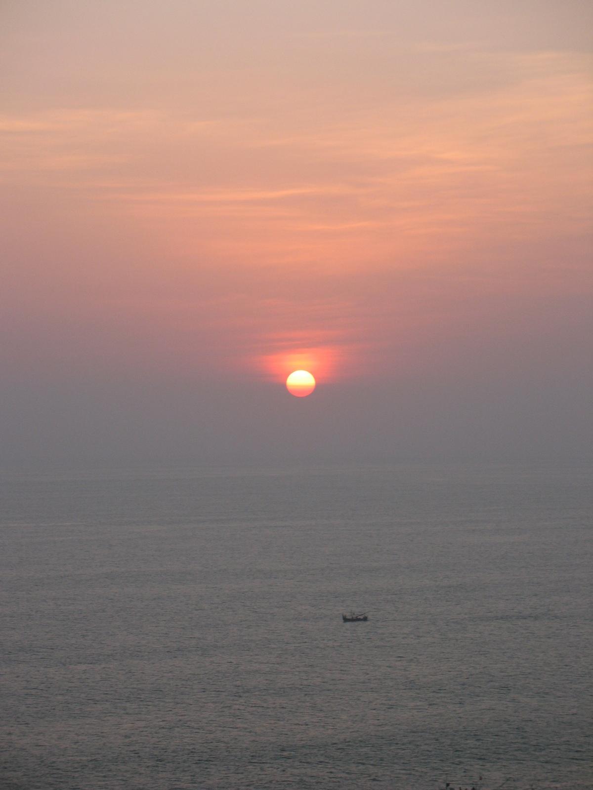 Sonnenuntergang am Ulu Watu Tempel