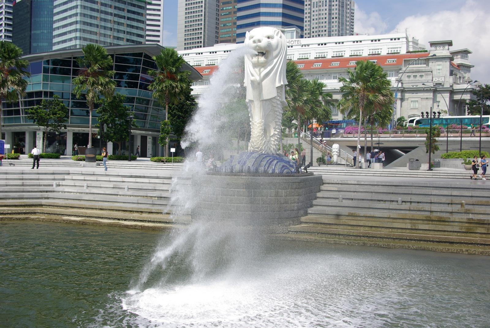 Singapore - Das Wahrzeichen