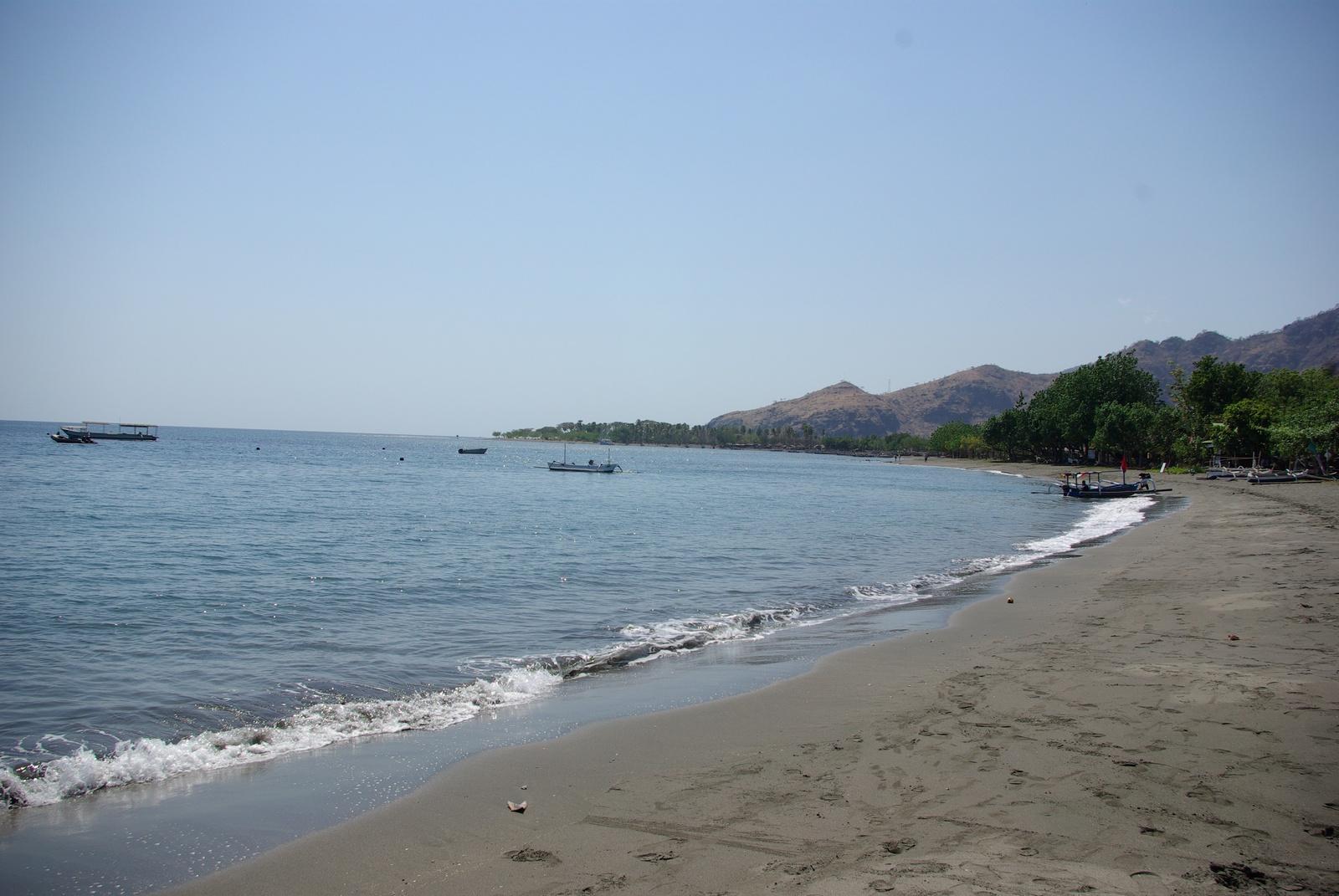 Strand des Pondok Sari Resorts