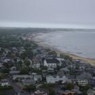 Provincetown auf Cape Cod vom Pilgrim Monument aus