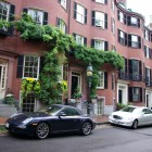 Stuttgarter Autos in Beacon Hill (Boston)