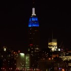 Empire State Building von Brooklyn aus