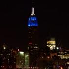 Empire State Building von Brooklyn aus