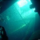 Blick vom Maschinenraum nach oben